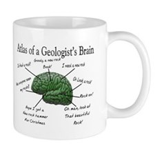 Atlas of a Geologists Brain Mugs
