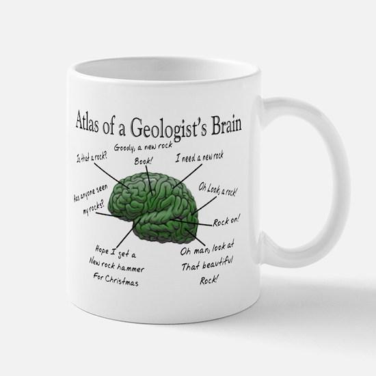 Atlas of a Geologists Brain Mugs