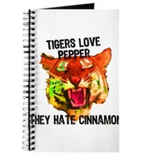 Tigers Love Pepper Journal