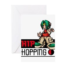 hiphopping1 Greeting Cards
