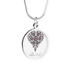 Love Beth Silver Round Necklace