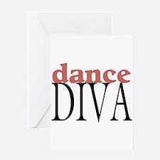 dance diva Greeting Cards
