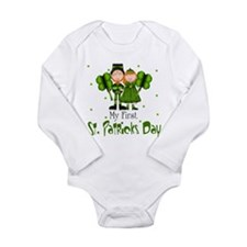 My first St. Patrick's Day Baby Body Suit