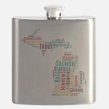 MichiganFishing Flask