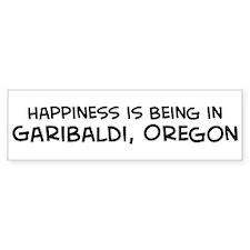 Garibaldi - Happiness Bumper Bumper Sticker