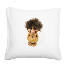 Be my Troll Square Canvas Pillow