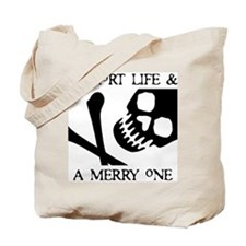 Pirate Short Merry Life Tote Bag
