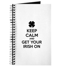 Keep calm and get your irish on Journal