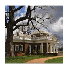 Monticello Tile Coaster