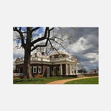 Monticello Rectangle Magnet