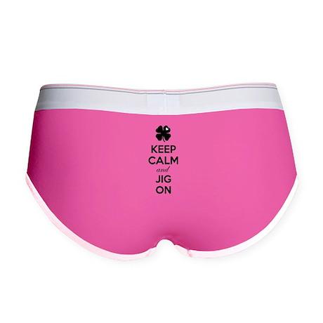 Keep calm and jig on Women's Boy Brief
