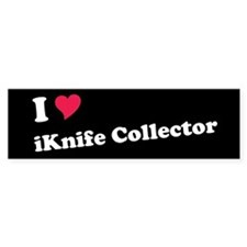 iKnife Collector Bumper Bumper Sticker
