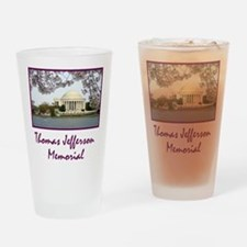 Thomas Jefferson Memorial Drinking Glass