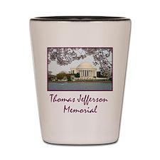 Thomas Jefferson Memorial Shot Glass