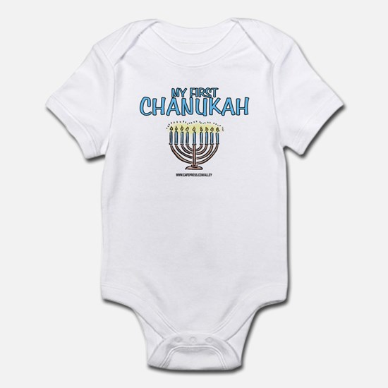 My First Chanukah Infant Bodysuit