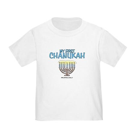 My First Chanukah Toddler T-Shirt