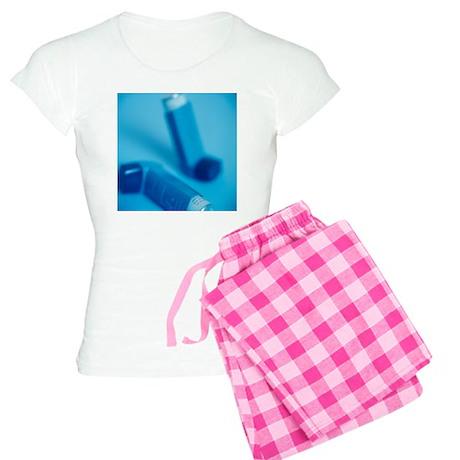 Asthma inhalers - Women's Light Pajamas