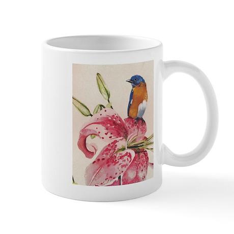 Beautiful Perch Mug By Nancydezotell