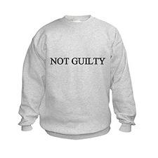 NOT GUILTY Sweatshirt
