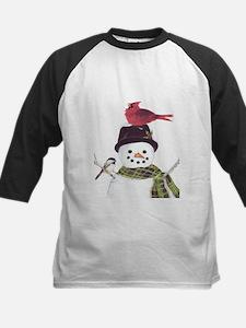 Cardinal Snowman Baseball Jersey