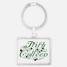Irish Colleen Landscape Keychain