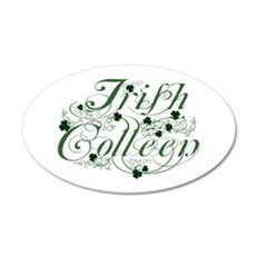 Irish Colleen Wall Decal