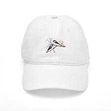 Male and Female Chickadees Baseball Baseball Cap