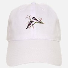 Male and Female Chickadees Baseball Baseball Cap