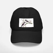 Male and Female Chickadees Baseball Hat