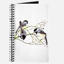 Chickadee gathering Journal