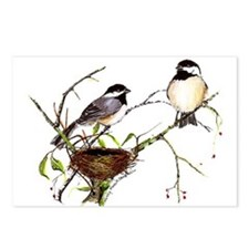 Chickadee inspection Postcards (Package of 8)