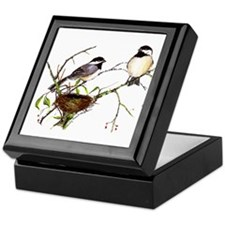 Chickadee inspection Keepsake Box