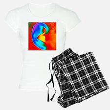 f a human ear - Pajamas