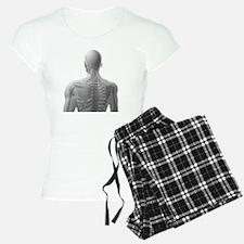 Upper body bones, artwork - Pajamas