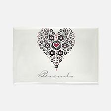 Love Brenda Rectangle Magnet