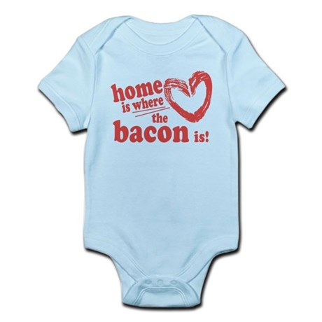 Home is where the Bacon is Body Suit