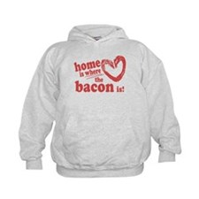 Home is where the Bacon is Hoodie