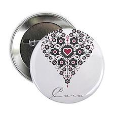 """Love Cara 2.25"""" Button"""