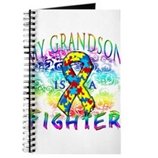 My Grandson Is A Fighter Journal