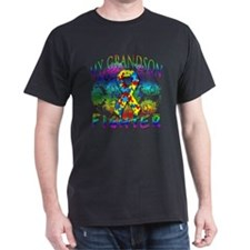 My Grandson Is A Fighter T-Shirt