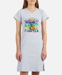 My Daughter Is A Fighter Women's Nightshirt