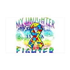 My Daughter Is A Fighter Wall Decal