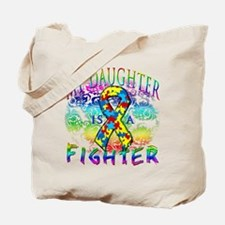 My Daughter Is A Fighter Tote Bag