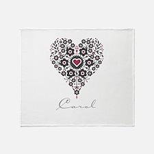 Love Carol Throw Blanket