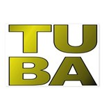 TUBA Postcards (Package of 8)