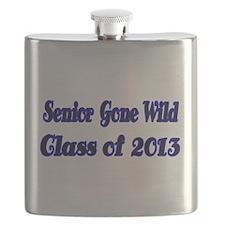 Senior gone Wild Flask