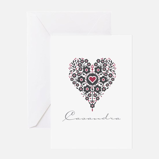 Love Casandra Greeting Card