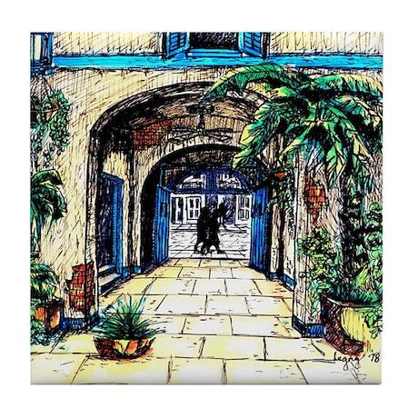 Walled Garden - Tile Coaster