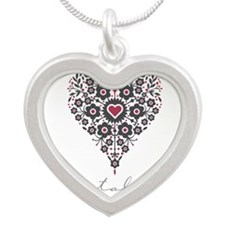 Love Catalina Silver Heart Necklace