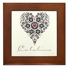 Love Catalina Framed Tile
